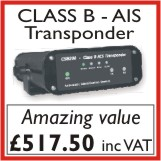 Click for more information on Class B AIS transponder